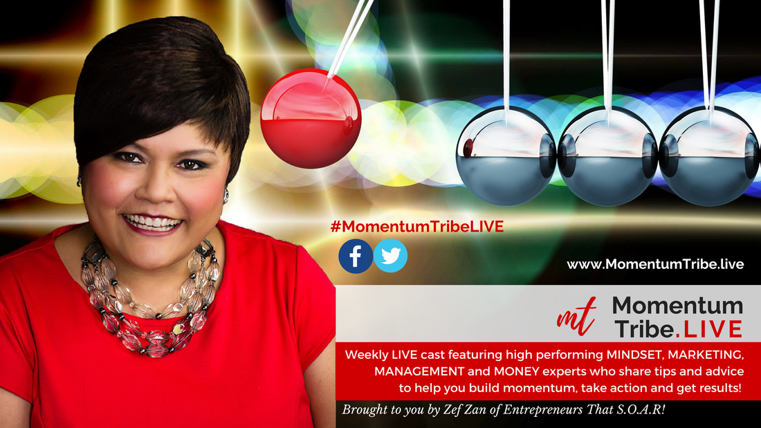Momentum Tribe LIVE - #MomentumTribeLIVE - Zef Zan on Momentum Tribe LIVE